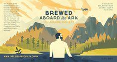 Alone Aboard the Ark Owen Davey Illustration
