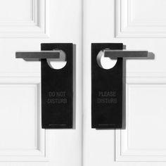 Black Door Sign by Alexander Wang #tech #flow #gadget #gift #ideas #cool
