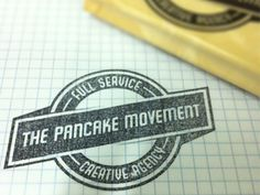 The Pancake Movement #stamp