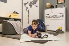 Pokój dziecka w klimacie wszystkich kontynentów świata. Więcej na https://www.meblik.pl/kolekcja/travel/