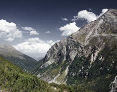 All sizes   Mountain III   Flickr - Photo Sharing! #alps #mountain #sunny #sky #vista #switzerland #blue #valley #green