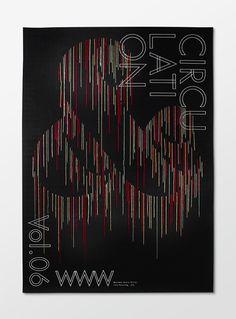 circulation poster. design: RYOTA Mishima #design #graphic #craft #poster #work #typography