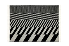 Image of Vitra Jacquard Print Woven Merino Blankets with Eames & Gerard Prints #pattern #white #print #black #gray #and #awesome