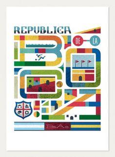 LAWERTA #lettering #argentina #graphic #desing #illustration #poster