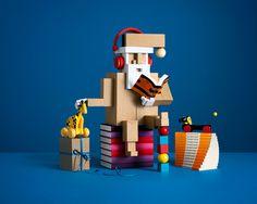 ARLANDA Toy Santa #carlkleiner