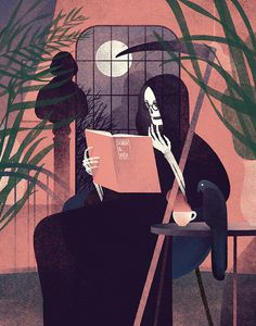 #illustration #death