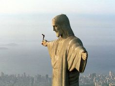 Félix Baumgartner & Christ. #christ #salto #afraid #go #jump #god #baumgartner #avance #flix #miedo