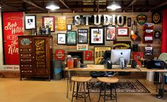 Starr Studios #office #studio #space