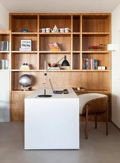 Natural Materials Create a Warm and Peaceful Family Apartment in Sao Paulo 5