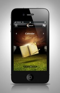 Guinness Rugby 2011 iPhone App on the Behance Network #guinness #photo #design #icons #iphone #illustration #app #manipulation