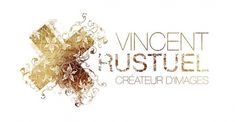 Vincent Rustuel identity on the Behance Network #branding #floral #logo #rustuel #vincent #type