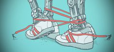 Alvarejo #shoes #draw #at #wars #illustration #star #snickers