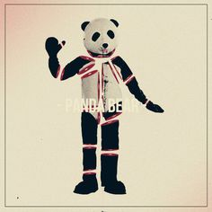 Panda Bear on Behance