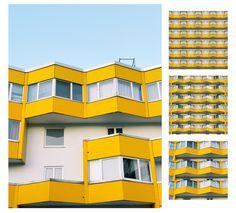 yellow #pattern #architecture PHOTOGRAPHIE © [ catrin mackowski ]