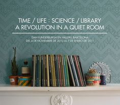 All sizes | Time / Science : Science / Library | Flickr - Photo Sharing! #design #graphic #dan #exhibition #funderburgh #wallpaper