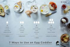 All the Ways to Use Egg Coddlers