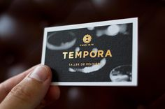 TEMPORA Business Card #card #business
