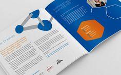 Reverse Rett brochure #brochure #programme #illustration