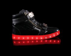 Light Up Shoes Womens Orion (Black)