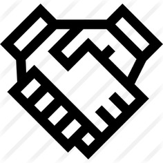 See more icon inspiration related to hands and gestures, Cooperation, handshake, hand shake, shake hands, agreement and business on Flaticon.