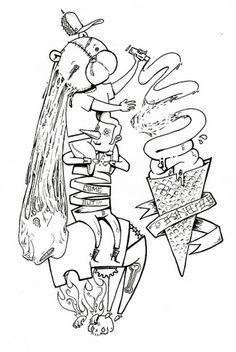 Soda2 - numanhoid #sodapuff #illustration #numanhoid