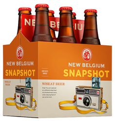 New Belgium Snapshot #packaging #beer