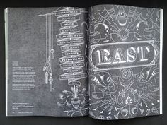 Print1 #lettering #chalk #layout #magazine #typography