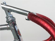 FFFFOUND! | Fixed Gear Cape Town » Bike of the day #bikes #red #fixed #ride #gear #track #bike #chrome #mash