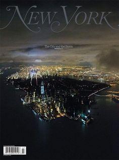 New york #typography #sandy #cover #hurricane #york #magazine #new