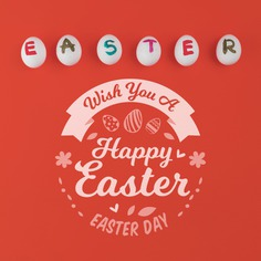 Happy easter day Free Psd. See more inspiration related to Flower, Mockup, Template, Paint, Spring, Celebration, Happy, Holiday, Letter, Flat, Mock up, Easter, Religion, Egg, Traditional, View, Up, Happy easter, Day, Top, Top view, Eggs, Flat lay, Cultural, Tradition, Painted, Mock, Seasonal, Easter day, Lay, Paschal and Painted egg on Freepik.