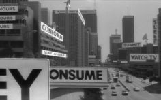 XLVIII — MEDIUM: EXTRA LARGE #typography #cityscape #city #obey #they live #john carpenter #consume