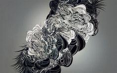 § #line #chung #sougwen #art #drawing