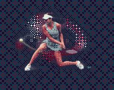 Tennis: Ana Ivanovic 2 #illustration #photoshop #filter