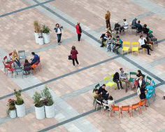 city3 + atelier starzak strebicki + laura muyldermans turn brussels' esplanade into a public, social space