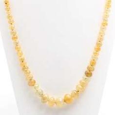 GÜNTER KRAUSS, necklace, fac., yellow sapphires