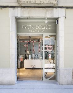 Rocambolesc Gelateria, Girona | We Heart; Lifestyle & Design Magazine #gelatto #retro #vintage