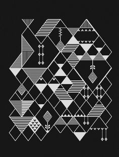 Mio Karo #pattern #shapes