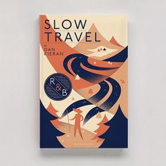 Slow Travel Matt Chase | Design, Illustration #book