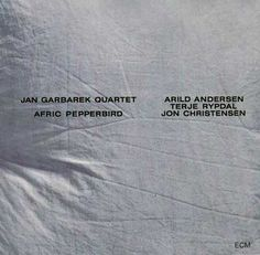 Images for Jan Garbarek Quartet - Afric Pepperbird #album #white #minimalism #cover #ecm #helvetica #records