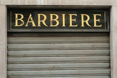 ITALY – FLORENCE I VERNACULAR TYPOGRAPHY