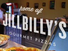 Dribbble - JillBilly by Katie Sinclair #type #pizza #typography