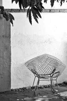 tumblr_m4do02r0551rwbm4mo1_1280.jpg 1,280×1,920 píxeles #chair #diamond #design #bertoia