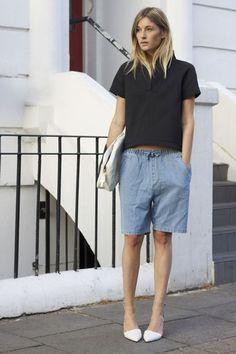 COTR Bermuda shorts #fashion #women
