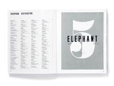 design work life » cataloging inspiration daily #studio8 #editorial #magazine #elephant