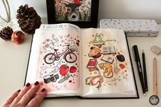 Sketchbooks on Behance #sketchbooks #illustration #drawing