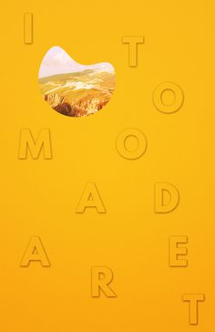 I Too Made Art by Tim Lyons #yellow #art #poster
