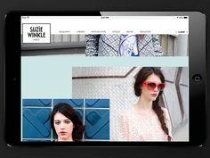 Suzie Winkle Re-branding #content #winkle #branding #lab #indentity #jade #design #cdlab #cordier #sonia #laurie #boisson #fashion #logo #gusta #dezyderiusz #suzie