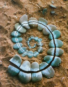 Andy Goldsworthy #land #stones #nature #sand #goldsworthy #art