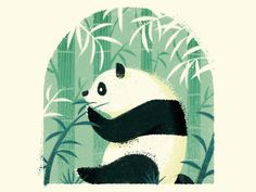 #illustration #panda