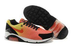 Max Air Nike Shoes 180 Mens Em Orange